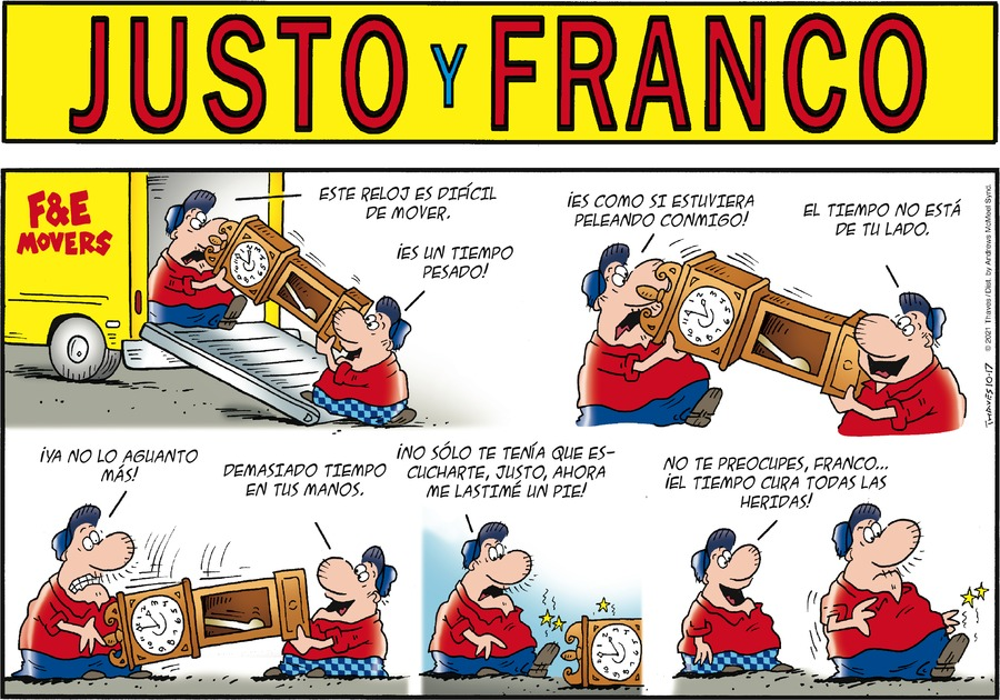 Justo y Franco by Thaves on Sun, 17 Oct 2021