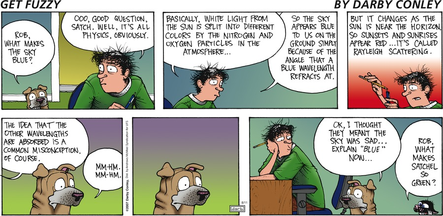 Get Fuzzy Comic Strip for August 11, 2019