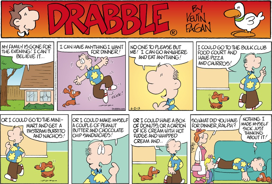 Drabble Comic Strip for June 02, 2013