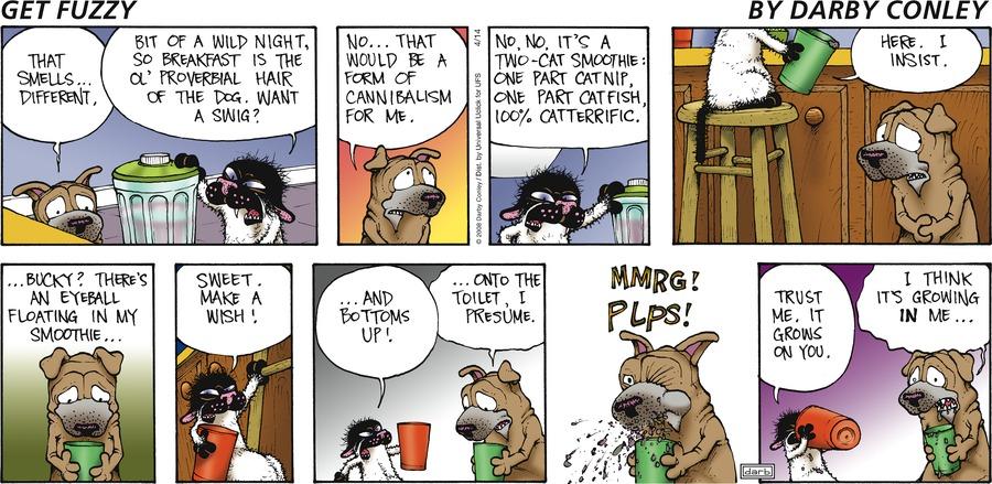 Get Fuzzy for Apr 14, 2013 Comic Strip