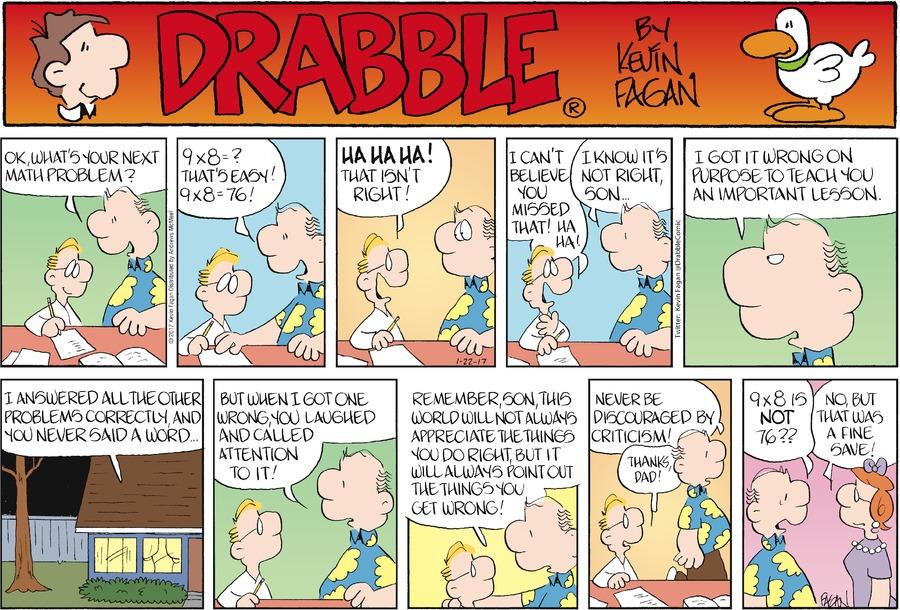 Drabble Comic Strip for January 22, 2017