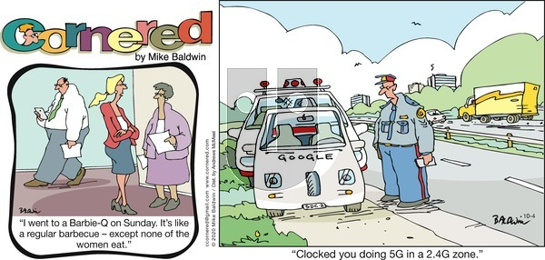 Cornered on Sunday October 4, 2020 Comic Strip