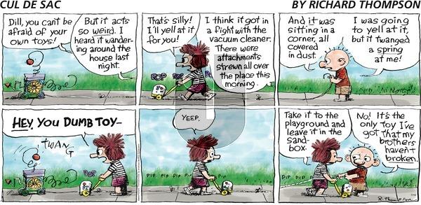 Cul de Sac on Sunday July 16, 2017 Comic Strip