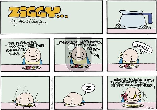 Ziggy on September 9, 2018 Comic Strip
