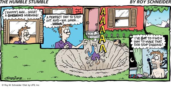 The Humble Stumble for Feb 17, 2013 Comic Strip