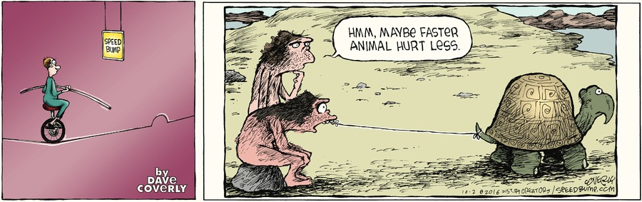 Speed Bump Comic Strip for October 02, 2016