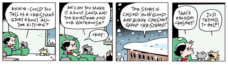 Ten Cats Comic Strip for December 09, 2014