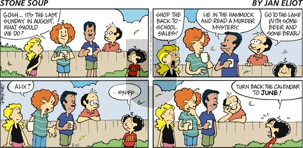 Stone Soup on Sunday August 27, 2017 Comic Strip