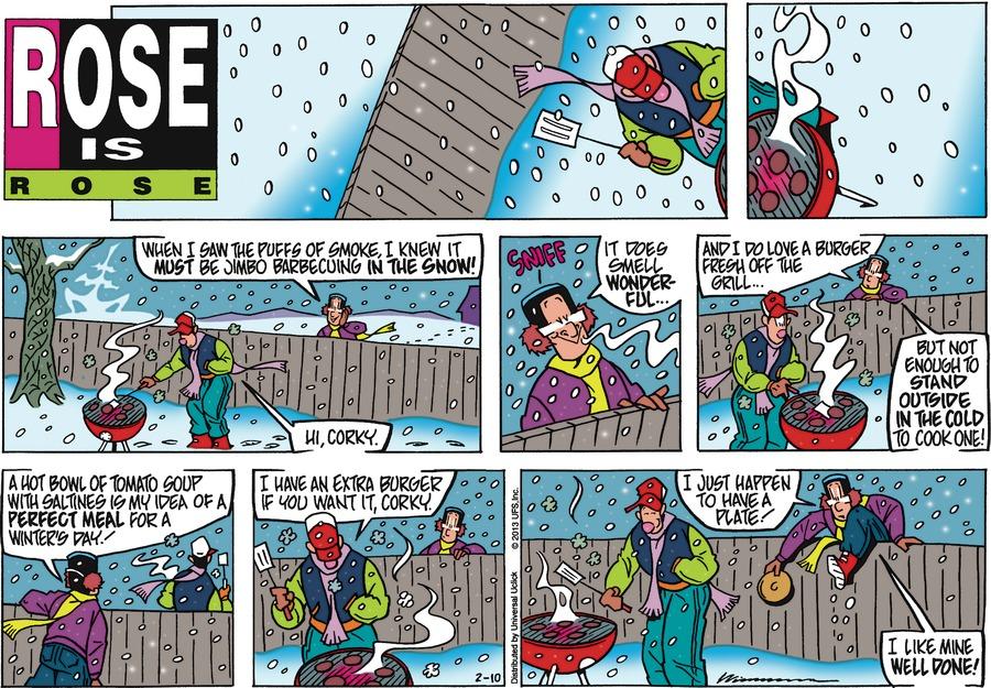Rose is Rose for Feb 10, 2013 Comic Strip