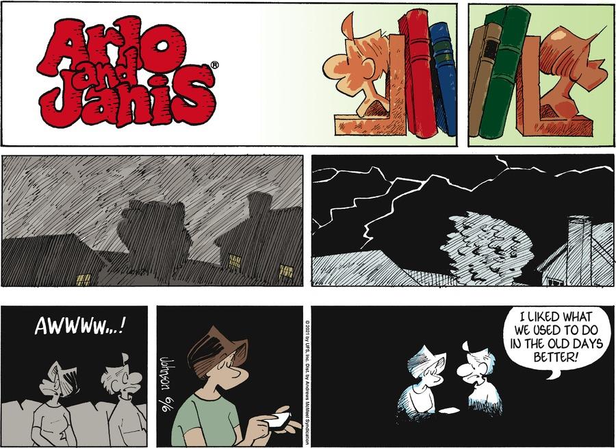 Arlo and Janis Comic Strip for June 06, 2021