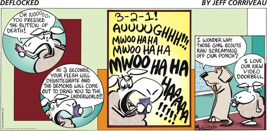 DeFlocked Comic Strip for January 28, 2018