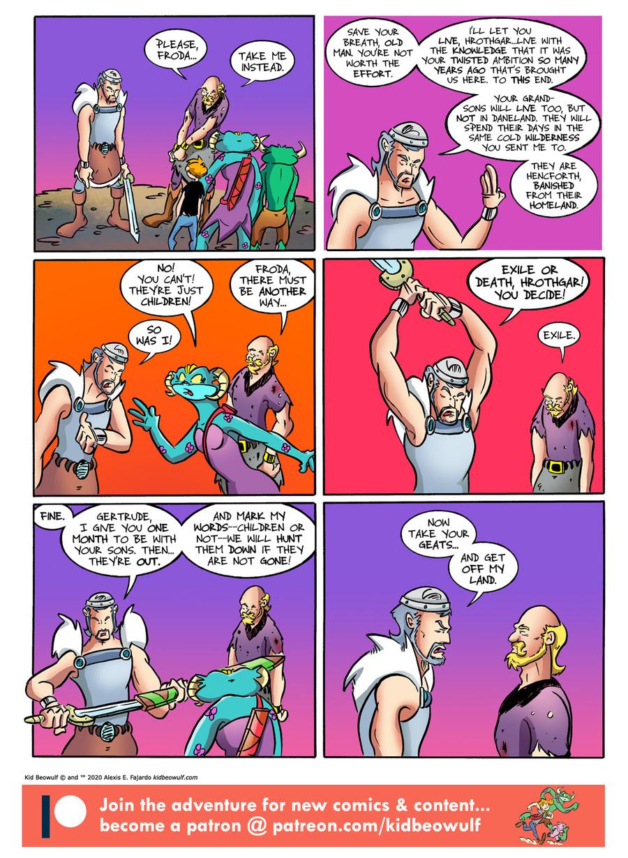 Kid Beowulf Comic Strip for February 26, 2020