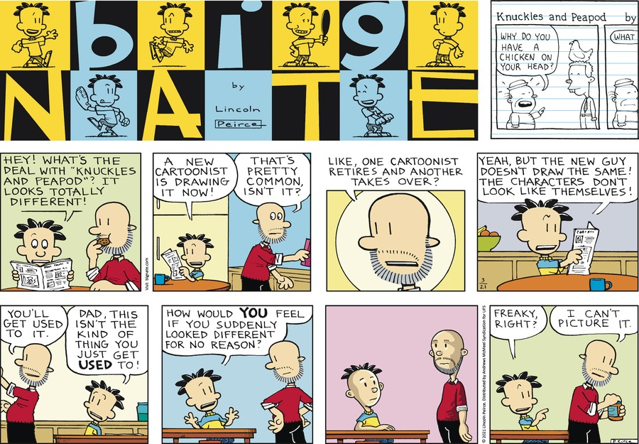 Big Nate Comic Strip for March 21, 2021