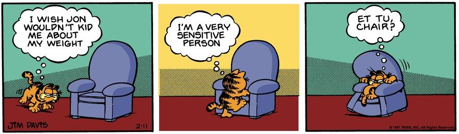 Garfield Classics Comic Strip for February 17, 2019