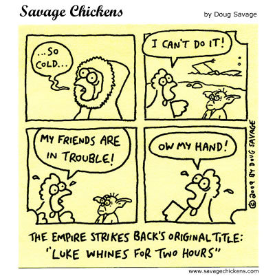 Savage Chickens Comic Strip for November 25, 2013