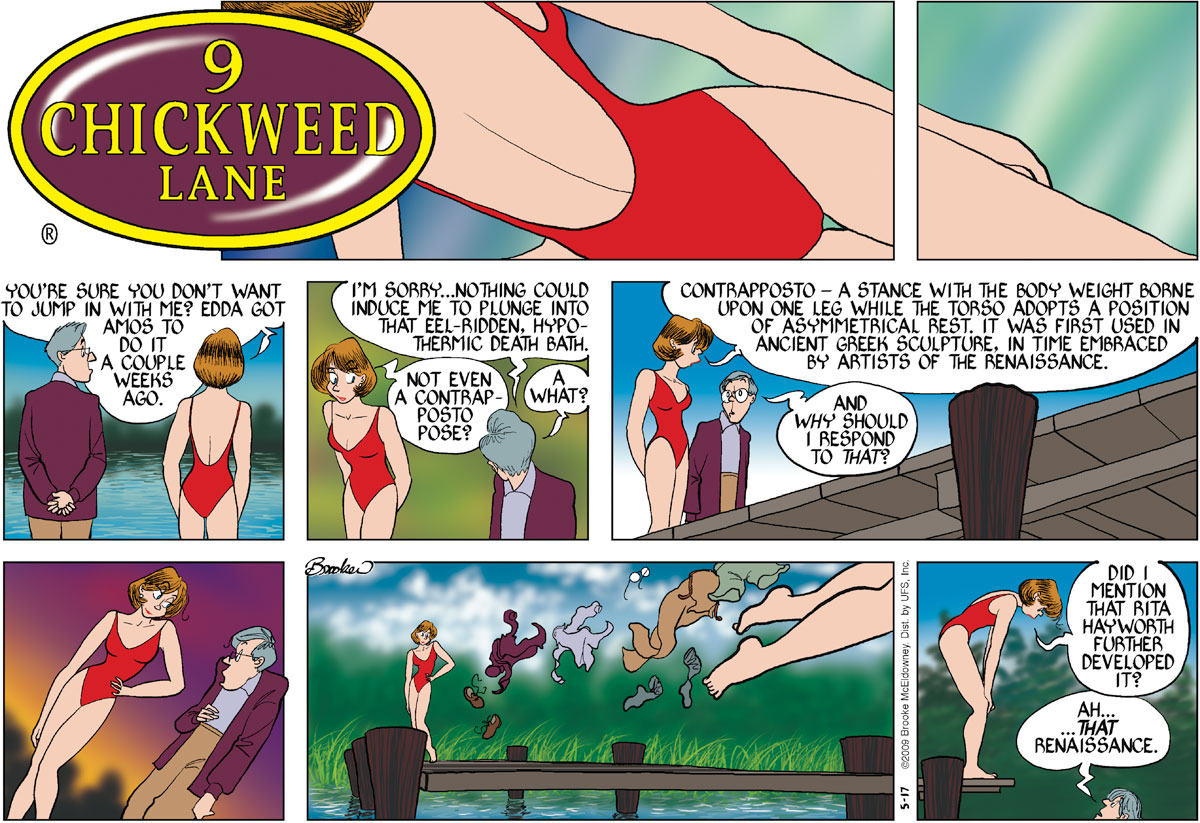 9 Chickweed Lane Comic Strip for May 17, 2009