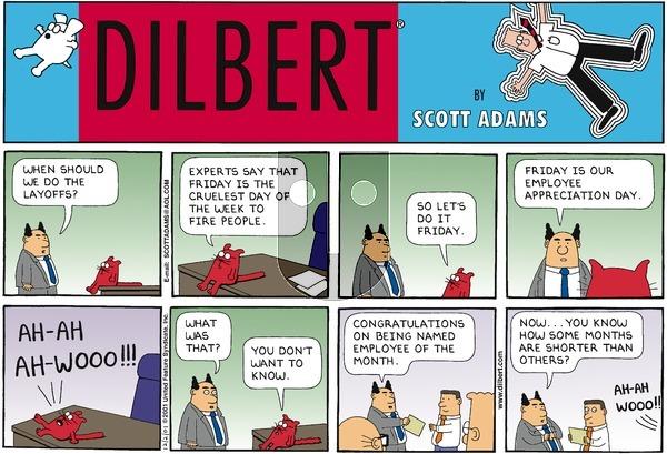 Dilbert - Sunday December 2, 2001 Comic Strip