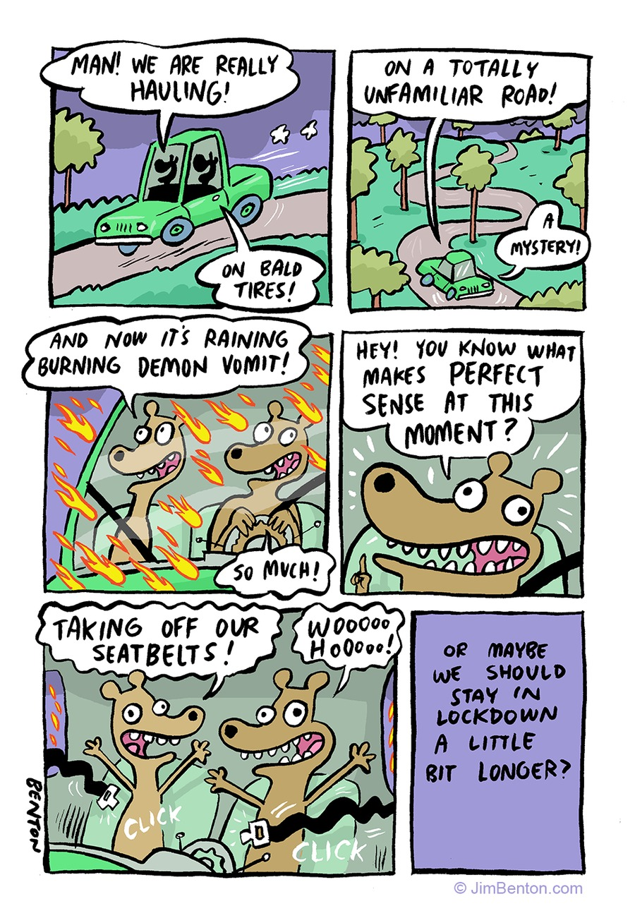 Jim Benton Cartoons Comic Strip for May 10, 2020