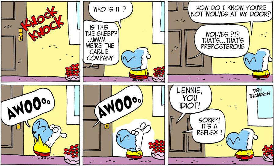 Lost Sheep for Jun 23, 2013 Comic Strip