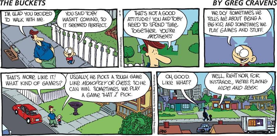 The Buckets Comic Strip for June 07, 2020