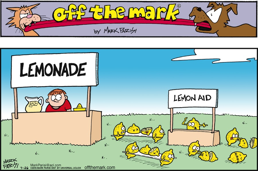 Off the Mark Comic Strip for July 26, 2015