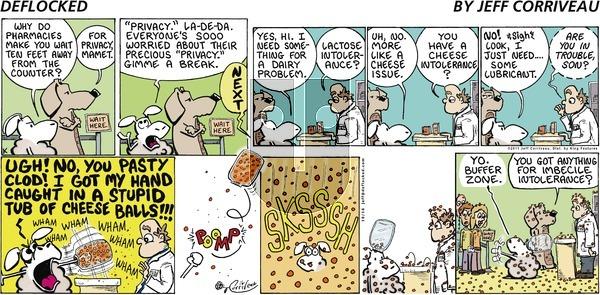 DeFlocked on Sunday October 16, 2011 Comic Strip