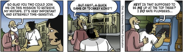 Alley Oop on Tuesday January 22, 2019 Comic Strip