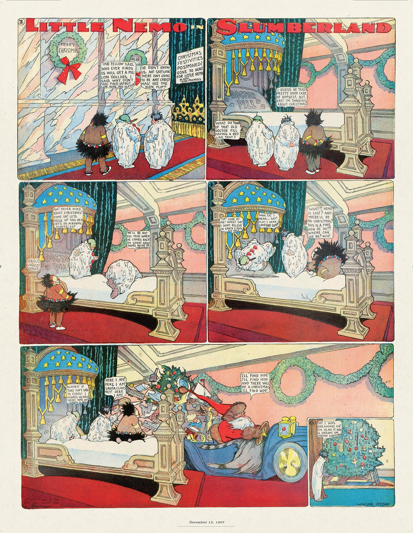 Little Nemo by Winsor McCay on Thu, 27 Aug 2020