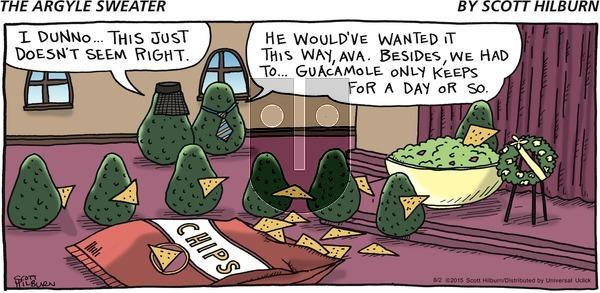 The Argyle Sweater on Sunday August 2, 2015 Comic Strip