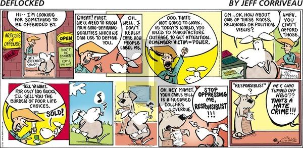 DeFlocked on Sunday February 21, 2016 Comic Strip