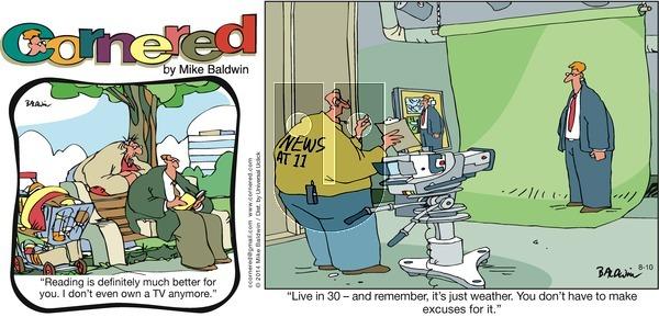 Cornered on Sunday August 10, 2014 Comic Strip