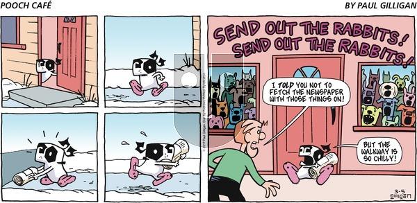 Pooch Cafe on Sunday March 5, 2017 Comic Strip