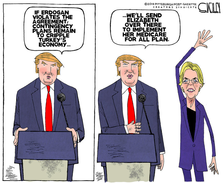 Steve Kelley Comic Strip for October 21, 2019