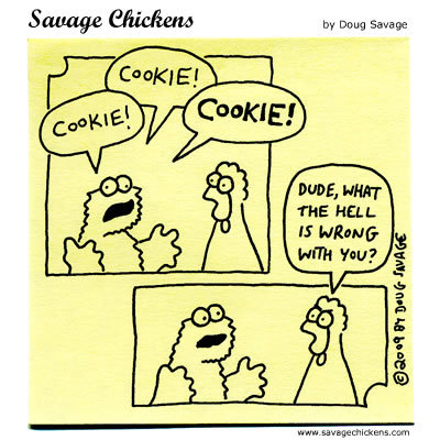 Savage Chickens Comic Strip for October 03, 2013