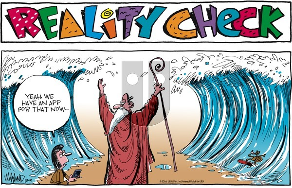 Reality Check on Sunday October 9, 2016 Comic Strip