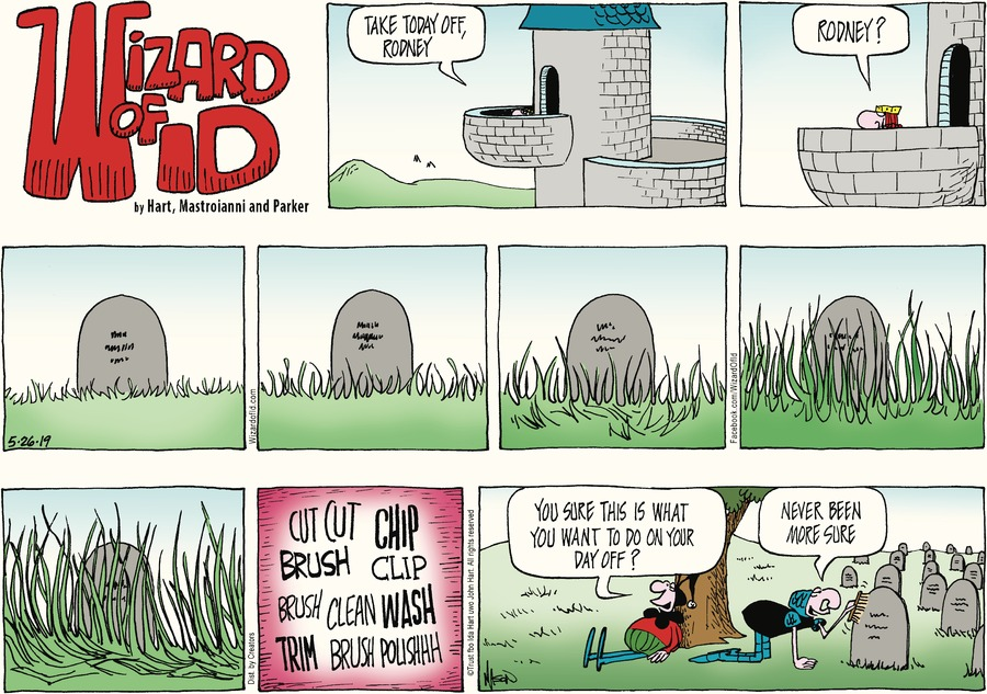 Wizard of Id Comic Strip for May 26, 2019