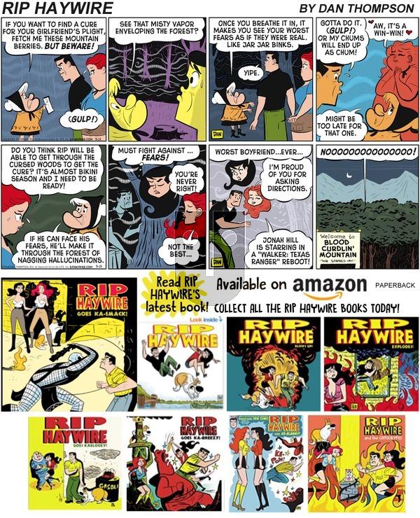 Rip Haywire on Sunday April 21, 2019 Comic Strip