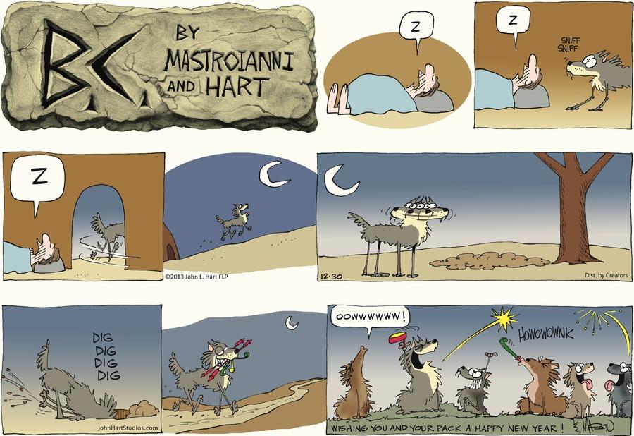 B.C. Comic Strip for December 30, 2012