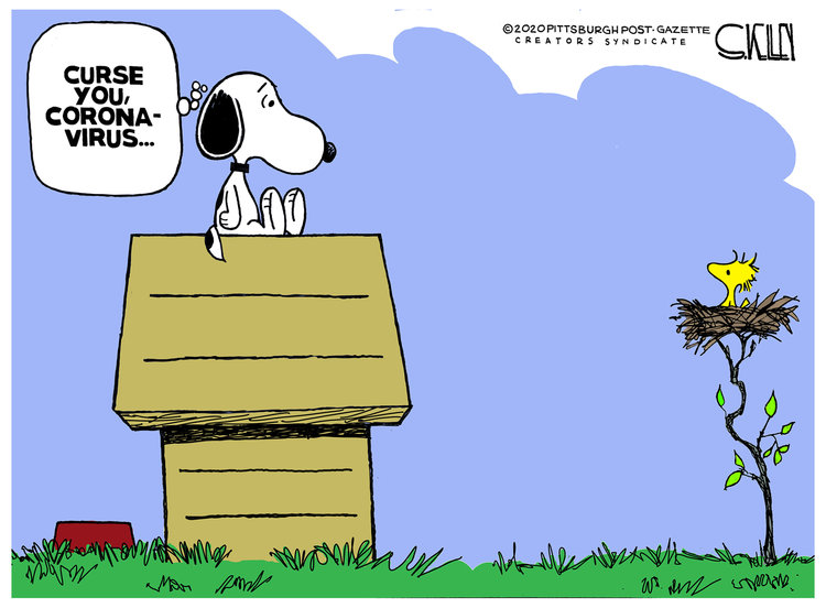 Steve Kelley Comic Strip for March 27, 2020