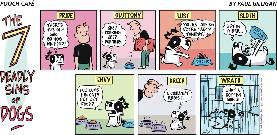 Pooch Cafe by Paul Gilligan for May 19, 2019