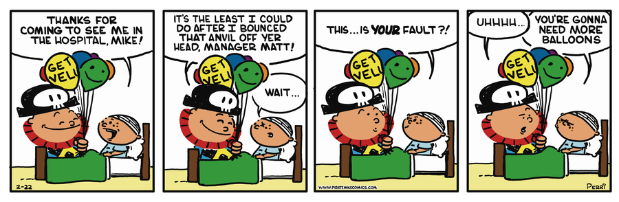 Pirate Mike Comic Strip for May 20, 2019