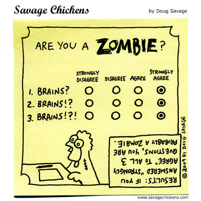 Savage Chickens for Oct 28, 2013 Comic Strip