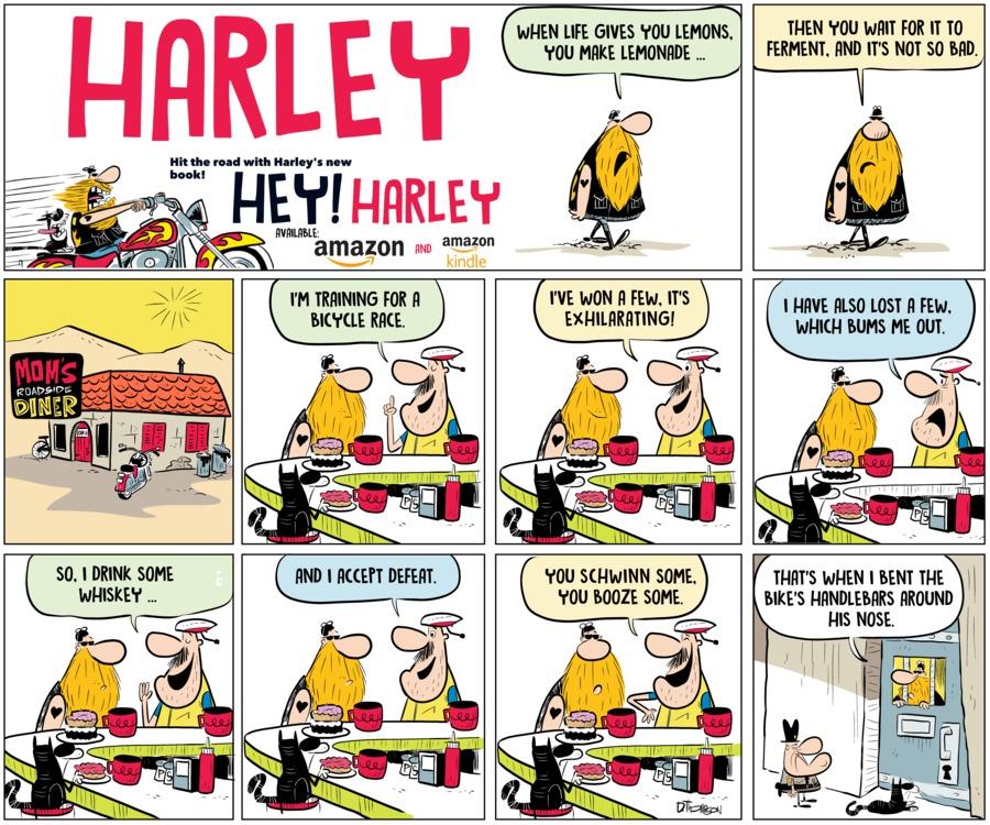 Harley by Dan Thompson for September 15, 2019