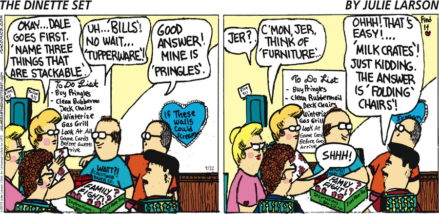 The Dinette Set for Sep 22, 2013 Comic Strip