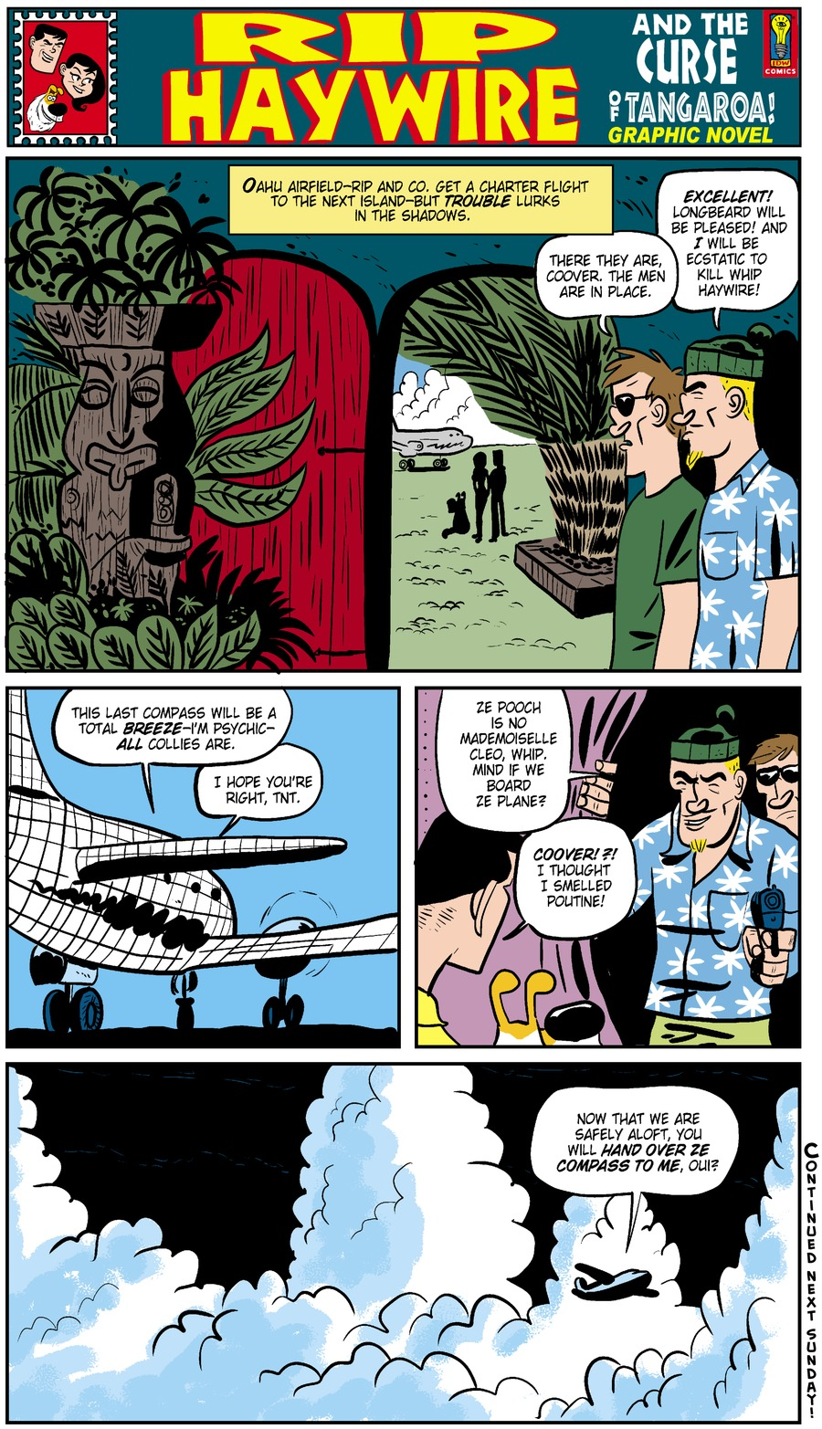 Rip Haywire Comic Strip for May 04, 2014