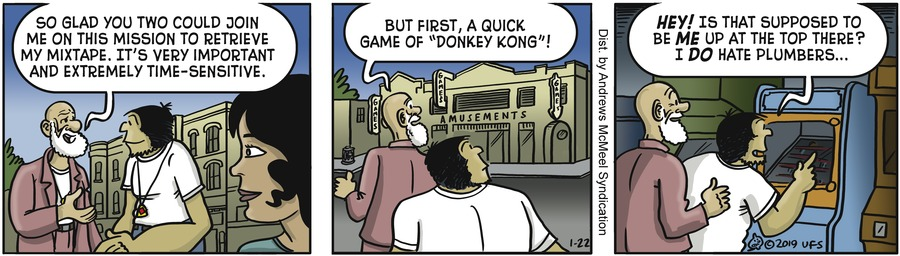 Alley Oop Comic Strip for January 22, 2019
