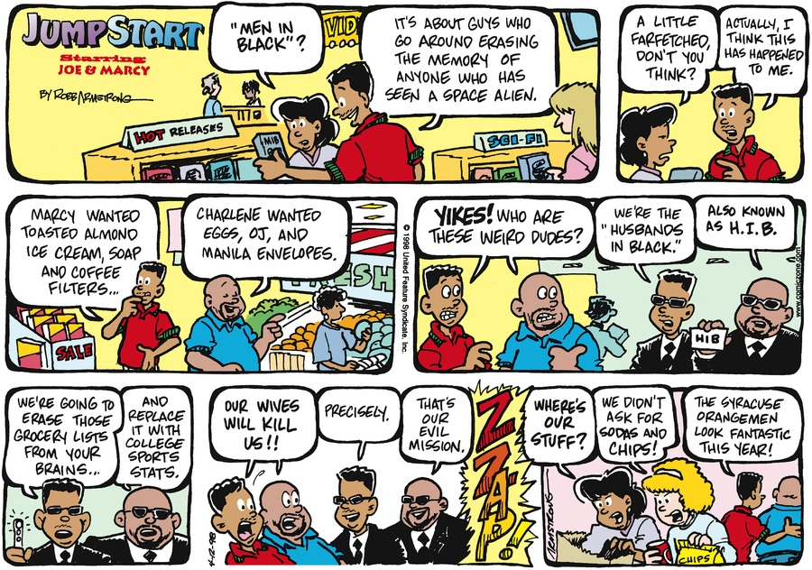 JumpStart for Apr 12, 1998 Comic Strip