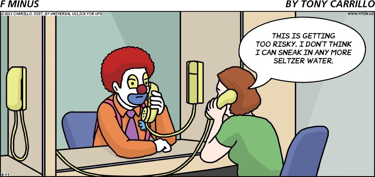 F Minus Comic Strip for September 11, 2011