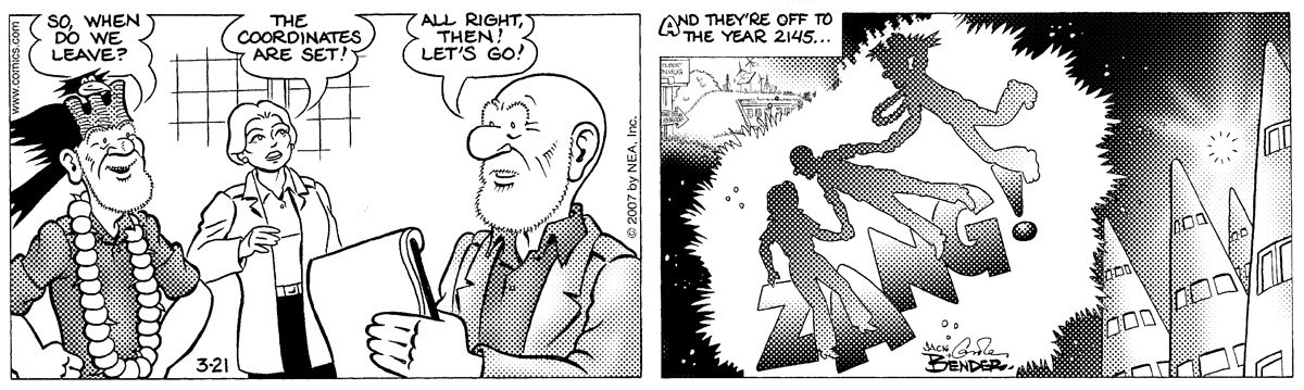 Alley Oop Comic Strip for March 21, 2007