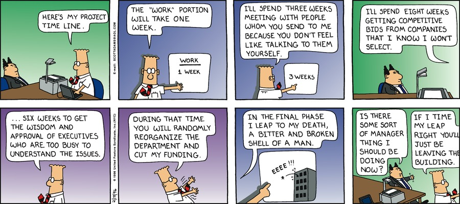 Dilbert Classics Comic Strip for January 19, 2020
